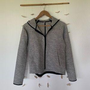 Gray lulu jacket